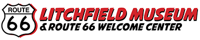 Litchfield Musuem & Route 66 Welcome Center Logo